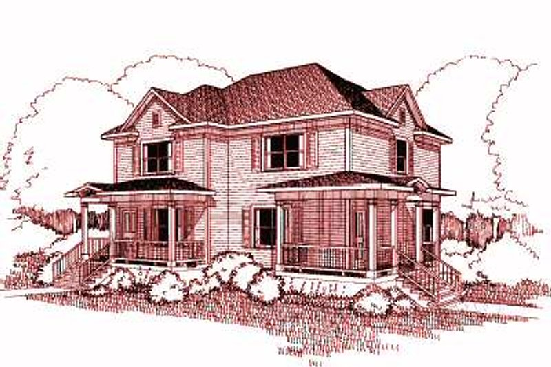House Plan Design - Traditional Exterior - Front Elevation Plan #79-238