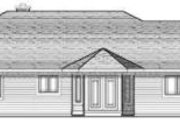 Traditional Style House Plan - 3 Beds 2.5 Baths 1882 Sq/Ft Plan #70-645 Exterior - Rear Elevation