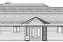 Traditional Exterior - Rear Elevation Plan #70-645
