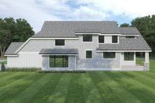 Architectural House Design - Cottage Exterior - Rear Elevation Plan #1070-107