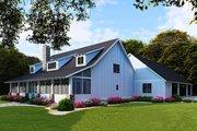 Farmhouse Style House Plan - 5 Beds 3 Baths 2860 Sq/Ft Plan #923-104 Exterior - Rear Elevation