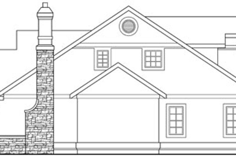European Exterior - Other Elevation Plan #124-817 - Houseplans.com