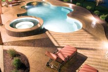 Traditional Exterior - Outdoor Living Plan #927-11