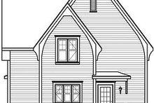 Dream House Plan - Farmhouse Exterior - Rear Elevation Plan #23-820
