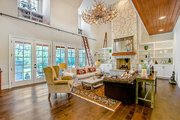 Craftsman Style House Plan - 5 Beds 5.5 Baths 4501 Sq/Ft Plan #17-2444 Interior - Family Room