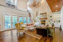 Craftsman Interior - Family Room Plan #17-2444