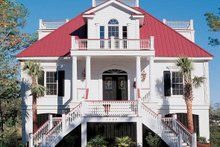 Dream House Plan - Country Exterior - Front Elevation Plan #37-257