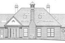 Dream House Plan - European Exterior - Rear Elevation Plan #406-170