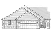 Country Style House Plan - 3 Beds 2 Baths 1953 Sq/Ft Plan #46-808 Exterior - Other Elevation