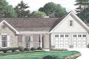 Traditional Exterior - Front Elevation Plan #34-125