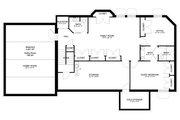 Craftsman Style House Plan - 3 Beds 2.5 Baths 7676 Sq/Ft Plan #1060-53 Floor Plan - Lower Floor