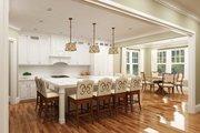 European Style House Plan - 3 Beds 2.5 Baths 2764 Sq/Ft Plan #119-428 Interior - Kitchen
