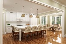 Home Plan - European Interior - Kitchen Plan #119-428