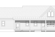 Country Exterior - Rear Elevation Plan #932-170