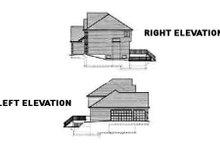 European Exterior - Other Elevation Plan #46-357