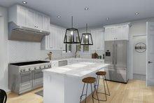 Architectural House Design - Craftsman Interior - Kitchen Plan #1060-65