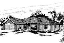 Modern Exterior - Front Elevation Plan #124-135
