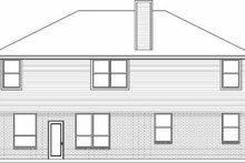 Traditional Exterior - Rear Elevation Plan #84-144