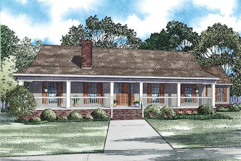 Southern Style House Plan - 3 Beds 2 Baths 2247 Sq/Ft Plan #17-2473