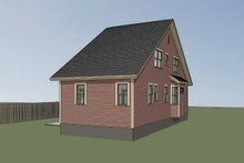 Dream House Plan - Cottage Exterior - Other Elevation Plan #79-175