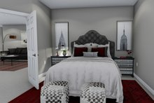 House Plan Design - Ranch Interior - Master Bedroom Plan #1060-42