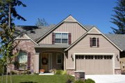 Craftsman Style House Plan - 3 Beds 2.5 Baths 2164 Sq/Ft Plan #48-109 Exterior - Front Elevation