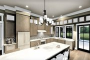 Bungalow Style House Plan - 2 Beds 2 Baths 2160 Sq/Ft Plan #44-238 Interior - Kitchen