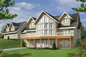 Traditional Exterior - Front Elevation Plan #117-579