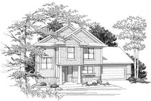 Home Plan - Traditional Photo Plan #70-1028