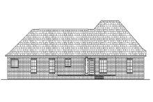 Dream House Plan - European Exterior - Rear Elevation Plan #430-19