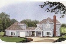 Dream House Plan - Bungalow Exterior - Front Elevation Plan #410-268