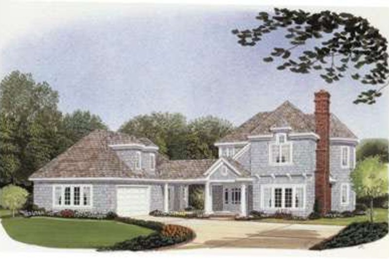 Bungalow Exterior - Front Elevation Plan #410-268