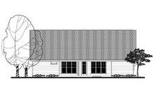 Craftsman Exterior - Rear Elevation Plan #430-140