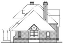 Dream House Plan - European Exterior - Other Elevation Plan #124-349