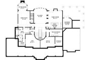 Southern Style House Plan - 5 Beds 5.5 Baths 5083 Sq/Ft Plan #119-198 Floor Plan - Lower Floor Plan