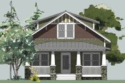 Craftsman Style House Plan - 3 Beds 2.5 Baths 1522 Sq/Ft Plan #461-19