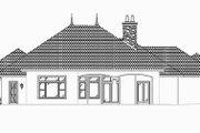 Mediterranean Style House Plan - 3 Beds 3.5 Baths 3242 Sq/Ft Plan #27-418