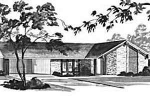 Ranch Exterior - Front Elevation Plan #36-361