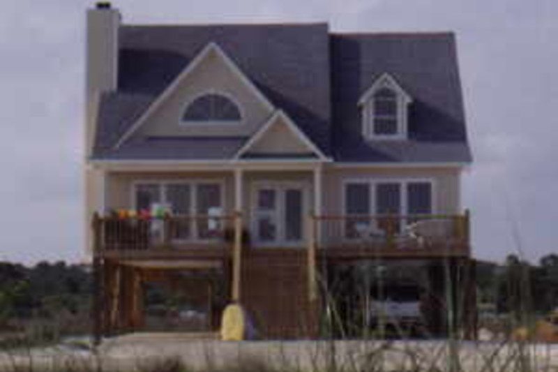Beach Exterior - Front Elevation Plan #37-143 - Houseplans.com