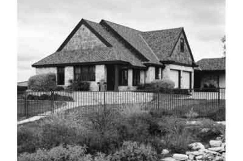 Home Plan - European Exterior - Front Elevation Plan #410-228