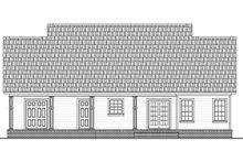 Ranch Exterior - Rear Elevation Plan #21-450