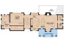 Farmhouse Floor Plan - Main Floor Plan Plan #923-63