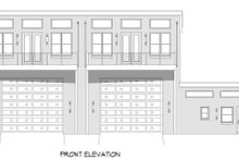 House Plan Design - Contemporary Exterior - Front Elevation Plan #932-151