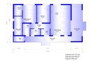 Modern Style House Plan - 2 Beds 2 Baths 1072 Sq/Ft Plan #549-19 Floor Plan - Main Floor
