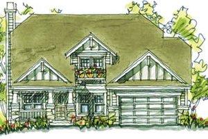 Craftsman Exterior - Front Elevation Plan #20-2038