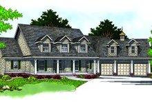 House Design - Farmhouse Exterior - Front Elevation Plan #70-538