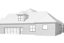 Traditional Exterior - Other Elevation Plan #63-197
