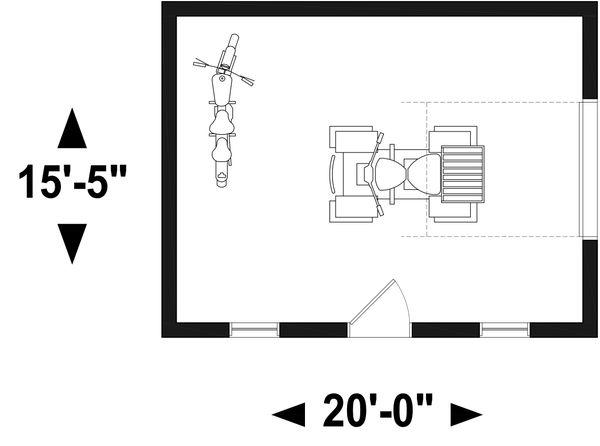 Home Plan - Farmhouse Floor Plan - Main Floor Plan #23-2744
