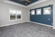 Ranch Style House Plan - 3 Beds 2 Baths 2005 Sq/Ft Plan #70-1485 Interior - Master Bedroom