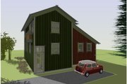Cottage Style House Plan - 3 Beds 2.5 Baths 1492 Sq/Ft Plan #450-1